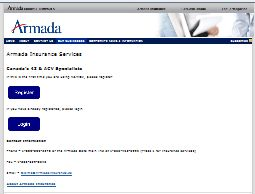 Armada Insurance Services Web Site