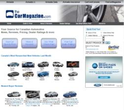 TheCarMagazine Web Site