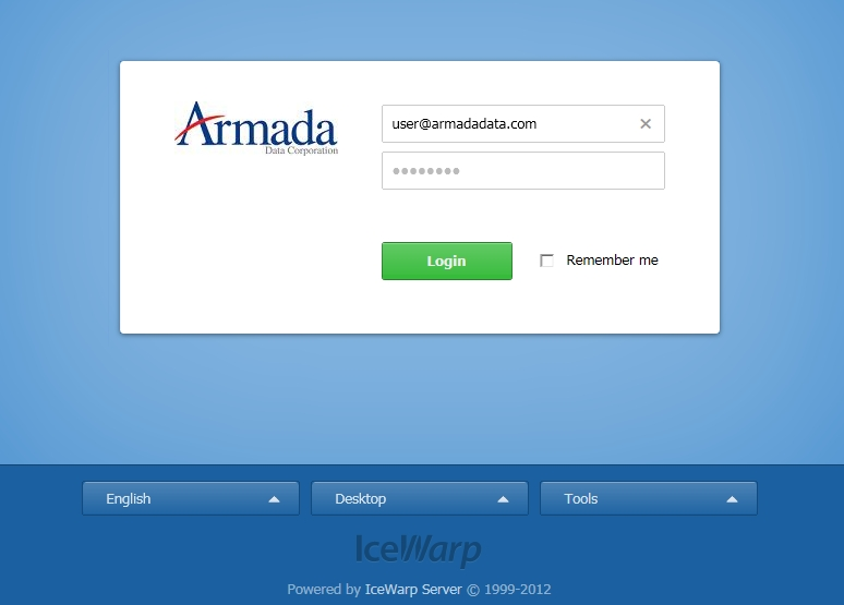 How to change your email account password — Armada Data