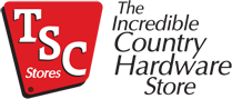 The TSC Stores logo